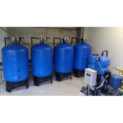 Система водоподготовки для социальной сферы 690 м3 / сутки