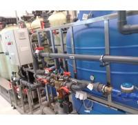 Водоподготовка для линий розлива воды 5,3 м3/сут.