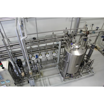 Водоподготовка для линий розлива воды 105 м3/сут.