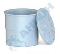 Ванна цилиндрическая усиленная с крышкой 500 л
