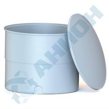 Ванна цилиндрическая усиленная с крышкой 3000 л