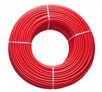 Труба сшитого полиэтилена для теплого пола BRASSMEN RED PE-XA 16Х2.0 , 1 м.(красная)