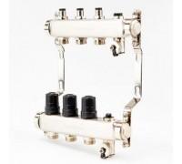 Коллектор для отопления BRASSMEN на 3 выхода. арт.A03-2014