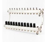Коллектор для отопления BRASSMEN на 11 выходов. арт.A11-2014
