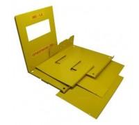Ящик разборный ШС-1,2 для газового счетчика G-1.6, G-2.5, G-4 (110мм)