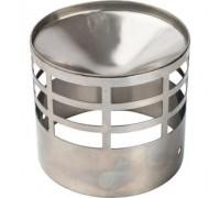 Решетка для дымоотводящей трубы дымохода  диам.80.мм   STOUT.арт.SCA-0080-010004