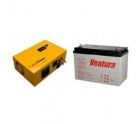 Комплект  CuberPower  CPS600 E (инвертор+АКБ 100 А/ч)