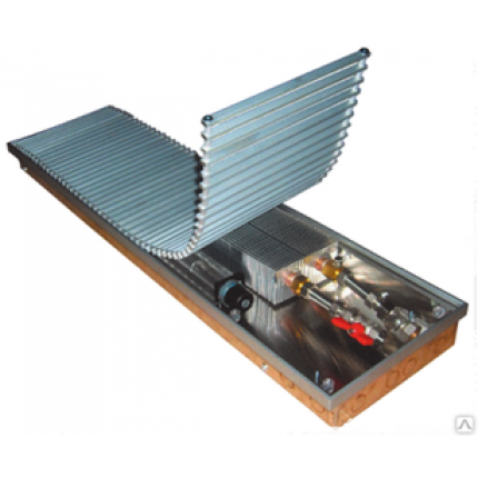 Внутрипольный конвектор EVA KB60-2000 с вентилятором(КВ.65.258),3253 Вт