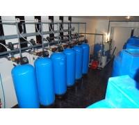 Водоподготовка для котельной сельского хозяйства 150 м3 / сутки