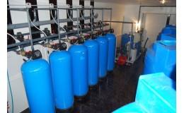 Станция водоочистки для жилых комплексов 8 м3 / час