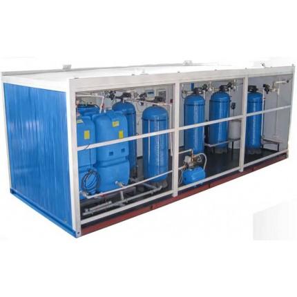 Контейнерная система водоподготовки 25 м3 / сутки