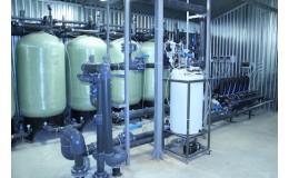 Система водоподготовки для жилого комплекса 21 м3 / час