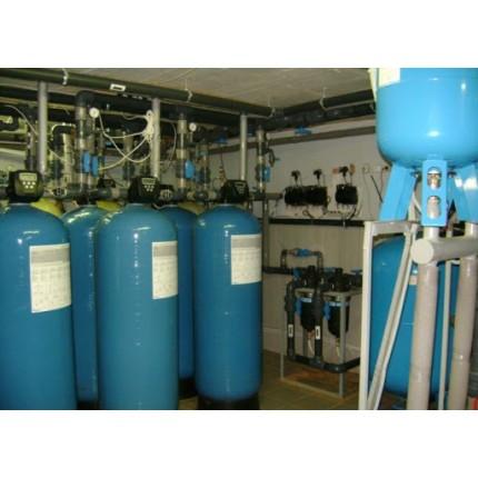 Система водоподготовки для жилых комплексов 12 м3 / час