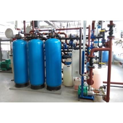 Водоподготовка для лаборатории 75 м3 / час