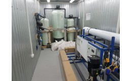 Модульная системы водоподготовки 15 м3 / сутки