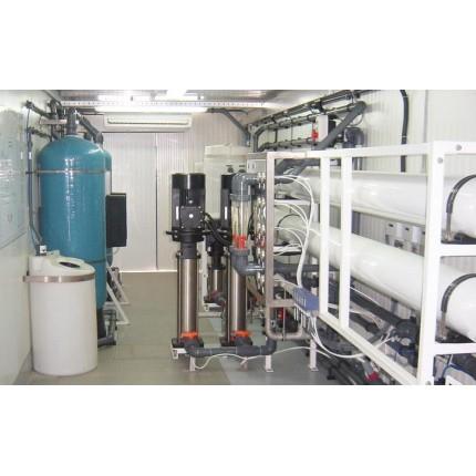 Модульная системы водоподготовки 10 м3 / сутки
