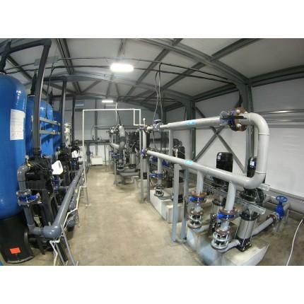 Модульная системы водоподготовки 14 м3 / сутки