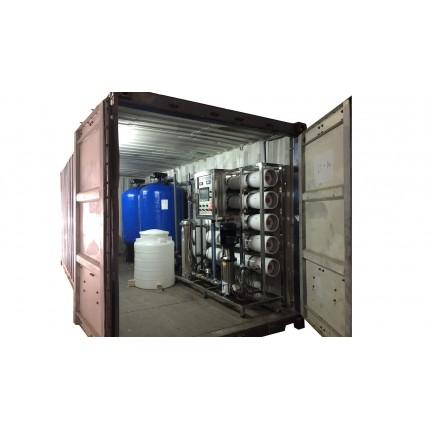 Контейнерная станция водоочистки 25 м3 / сутки