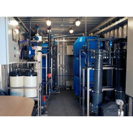 Водоподготовка для текстильной фабрики 22 м3 / час