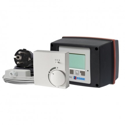 Контроллер-привод поворот. 90C-1A-90 (220В,15Нм,90°,наруж.t⁰C,каб.,КО-РО-ТП-ТН-ТТ-ОХ)