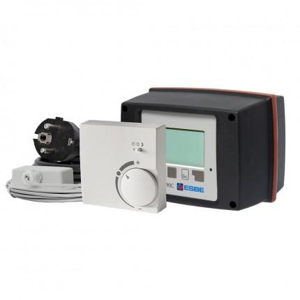 Контроллер-привод поворот. 90C-3C-90 (220В,15Нм,90°,комн.t⁰C-каб.,наруж.t⁰C,каб.,КО-РО-ТП-ТН-ТТ-ОХ)