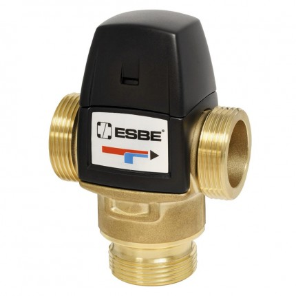 "Клапан термост. VTA522 (DN20,Kvs3.2,PN10,НР 1"",20-43°C,ГВ-ТП)"