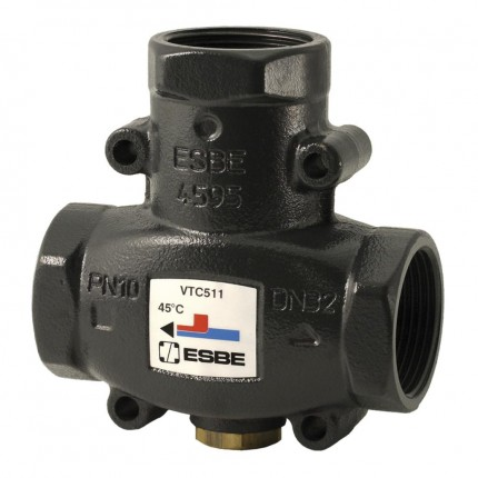 "Клапан термост. VTC511 (DN25,Kvs9,PN10,ВР 1"",50°C,ТТ)"