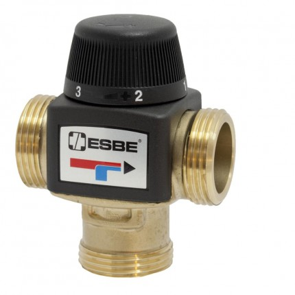 "Клапан термост. VTA372 (DN20,Kvs3.4,PN10,НР 1"",20-55°C,ЦОТ-КО-РО-ТП)"