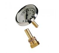 Термометр биметал с погр. гильзой T 63/50