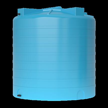 Бак для воды пластиковый ATV 2000 (синий) с поплавком