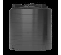 Бак для воды пластиковый ATV-2000 (черный) с поплавком