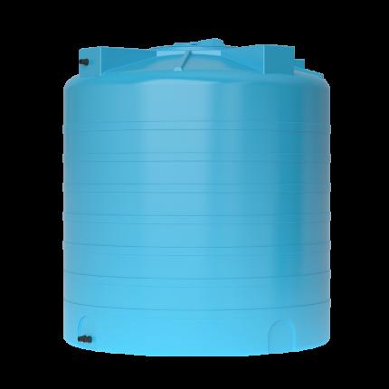 Бак для воды пластиковый ATV 1500 (синий) с поплавком