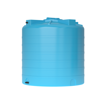 Бак для воды пластиковый ATV 1000 (синий) с поплавком