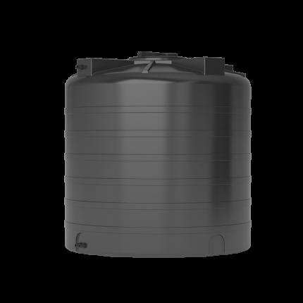 Бак для воды пластиковый ATV-1000 (черный) с поплавком