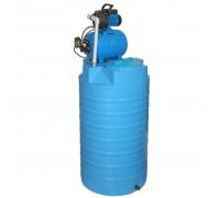 Бак для воды пластиковый ATV-500 с автоматической насосной станцией JP 600PA – тип 2/тип 3