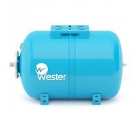 Бак мембранный для водоснабжения горизонтальный Wester WAO80