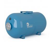 Бак мембранный для водоснабжения горизонтальный Wester Premium WAO150_нерж. контрфланец