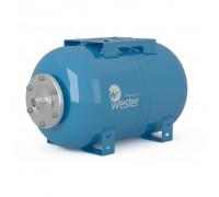 Бак мембранный для водоснабжения горизонтальный Wester Premium WAO80_нерж. контрфланец