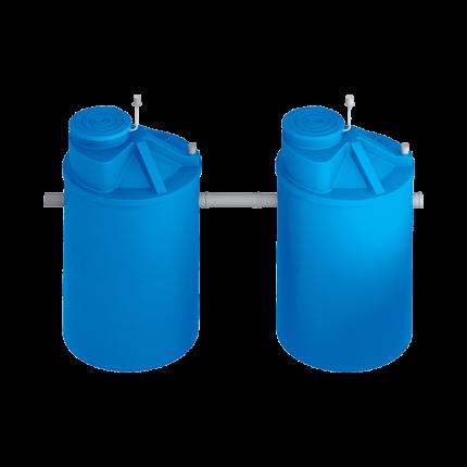 Система локальной очистки сточных вод ЛОС 8A (стандартное исполнение, 180 град.)