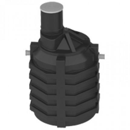 Ёмкость под септик 3 куб.м (стандартное исполнение, входной и выходной патрубки с перегородками)