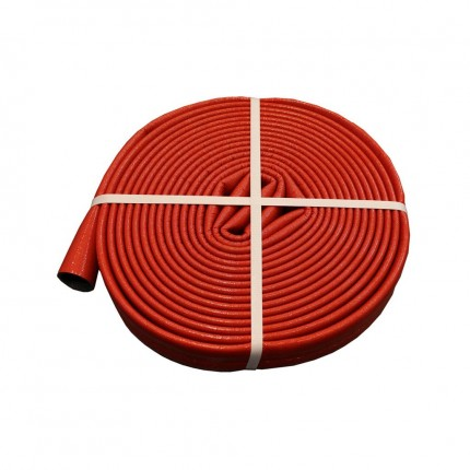 Лента армированная самоклеящаяся Энергофлекс красная 48мм х