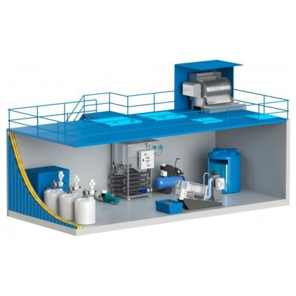 Блочно модульная система водоподготовки 20 м3 / сутки