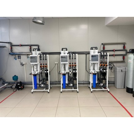 Водоподготовка для фармацевтического производства 4 м3 / час