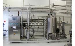 Станция водоподготовки для фармацевтического производства 6 м3 / час