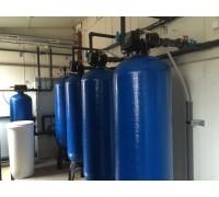 Водоподготовка для линий розлива воды 100 м3/ час